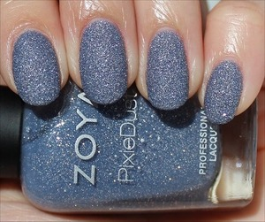 From the first PixieDust Collection. See more swatches & my in-depth review here: http://www.swatchandlearn.com/zoya-nyx-swatches-review/