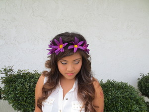 Purple/Fuschia Headband