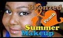 Bronzed Peach Summer Makeup ♥ Discount June