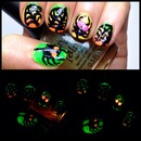 Spook me in the Dark Nails!