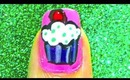 Yummy Cupcake-nailart tutorial.... :-)
