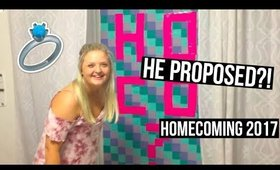 AGGIE ASKS HIS HIGH SCHOOL GIRLFRIEND TO HOMECOMING!
