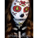 Christmas sugarskull