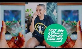 #momvlogs | lazy day at home & spiritual guru box unboxing