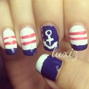 Nautical Nails #2