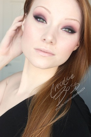 "This sexy look was created using the Naked 3 Palette by Urban Decay! This is totally going to be my new ""go to"" look for evening."