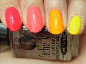 See more photos here: http://www.swatchandlearn.com/nail-art-neon-ombreskittle-manicure-swatches-review/