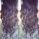 mermaid curly hair