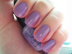 OPI Do You Lilac It?  To read my review of the polish please visit my blog:  www.mazmakeup.blogspot.com