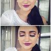 Purple lipstick (;
