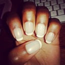 simple French tip