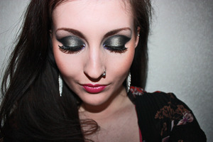 Beyonce Party Inspired Makeup