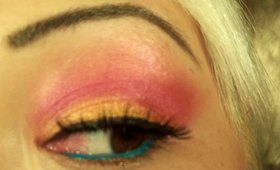 Bright Summer Look Featuring Natures Brilliance By Sue Cosmetics