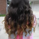 Ombre hair by Christy Farabaugh