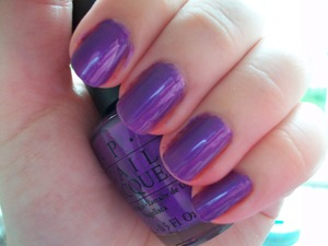 OPI Purple with a Purpose  To read my review of the polish please visit my blog:  www.mazmakeup.blogspot.com