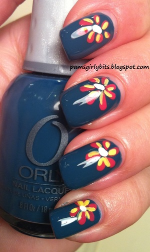 nail art sapphire silk 053