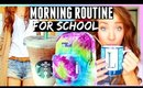 MORNING ROUTINE | First Day Of School 2015