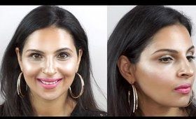 FULL FACE USING ONLY HIGHLIGHTERS Challenge   Manisha Moments