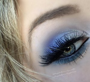 Got to finally break out my Bh Cosmetics pallets :)!  These defiantly pack a punch in pigment.  Full details on my blog http://theyeballqueen.blogspot.com/2015/12/icy-blue-winter-makeup-tutorial.html