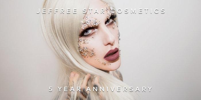 Shop Jeffree Star Cosmetics' 5 Year Anniversary Velour Liquid Lipstick Bundle on Beautylish.com