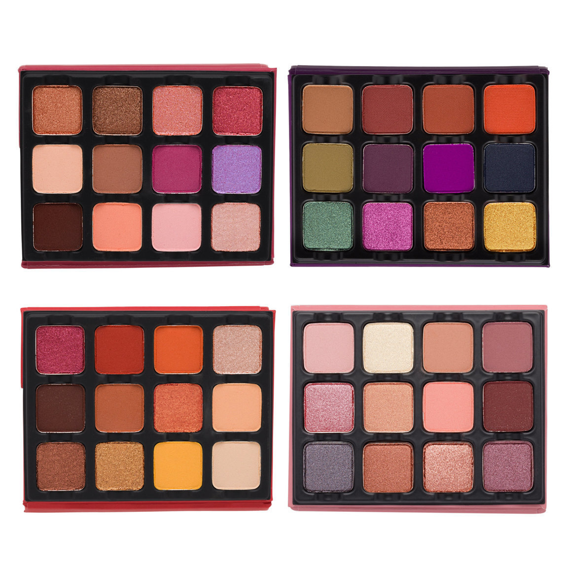 Viseart The EDIT Eyeshadow Palette Collection alternative view 1 - product swatch.