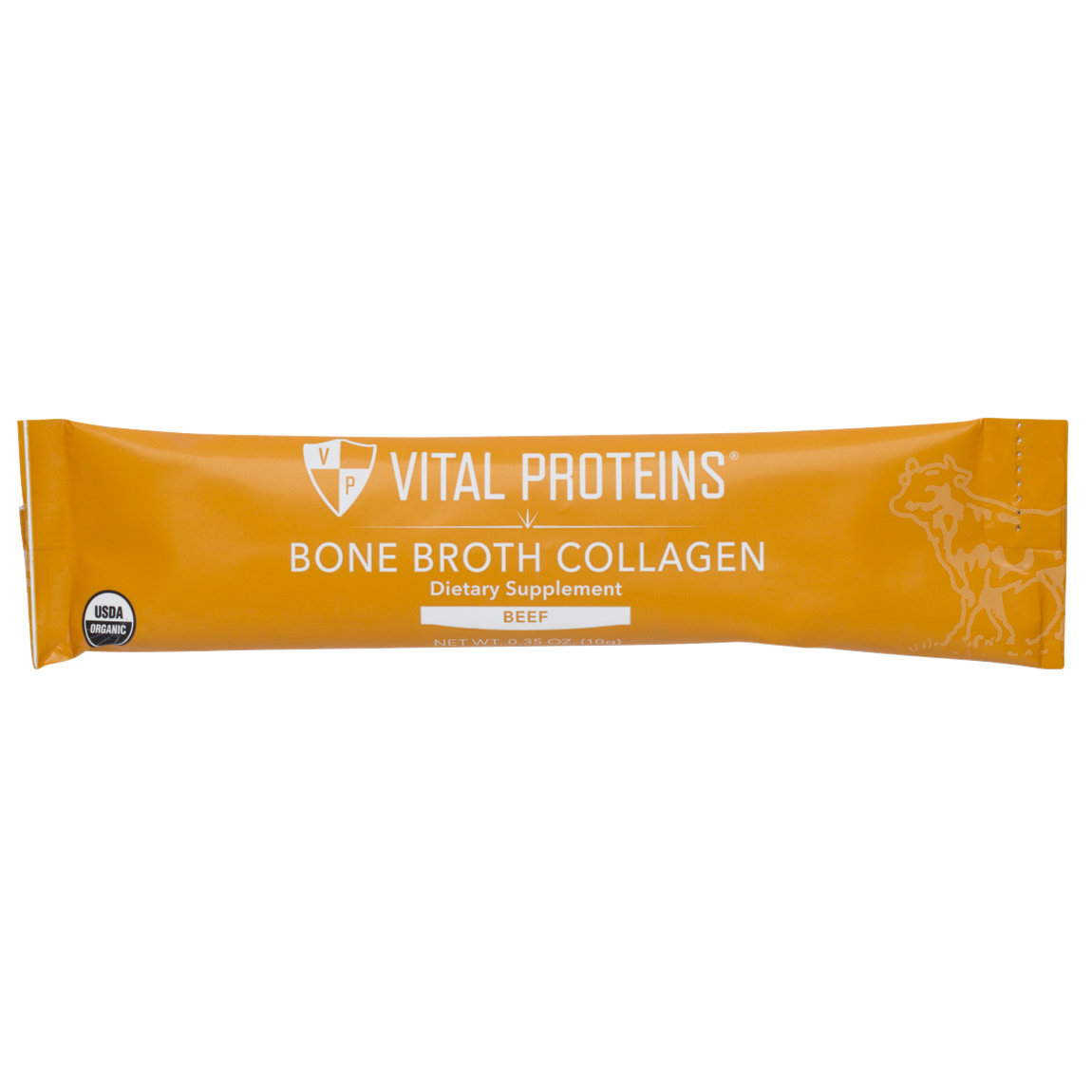 Vital Proteins Bone Broth Collagen - Unflavored Beef Stick Packs product swatch.