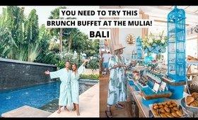 BEST BRUNCH BUFFET IN BALI - THE MULIA