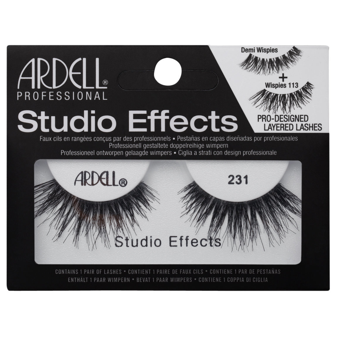 a4f8b30260a Ardell Studio Effects Lashes 231 | Beautylish