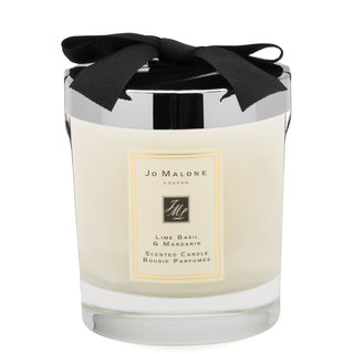 Lime Basil & Mandarin Scented Candle 200g Home