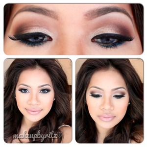 The simple makeup I rocked for NYE 💖