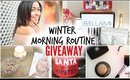 Winter Morning Routine + Huge Holiday GIVEAWAY
