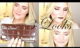3 LOOKS 1 PALETTE |  TOO FACED CHOCOLATE BAR PALETTE