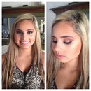Senior pictures makeup.