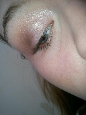 pink & brown eyes.
