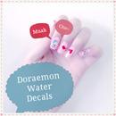 Doraemon Water Decals