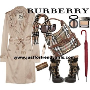I'm really obsessed with burberry <3 love it