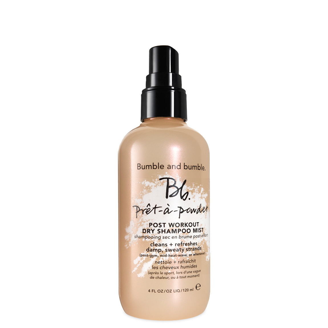 Bumble and bumble. Prêt-à-Powder Post Workout Dry Shampoo Mist 4 oz alternative view 1 - product swatch.