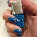 Dior blue!