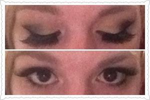 Fanned eyelashes <3