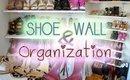 Katie's Bliss | Shoe Wall & Organization