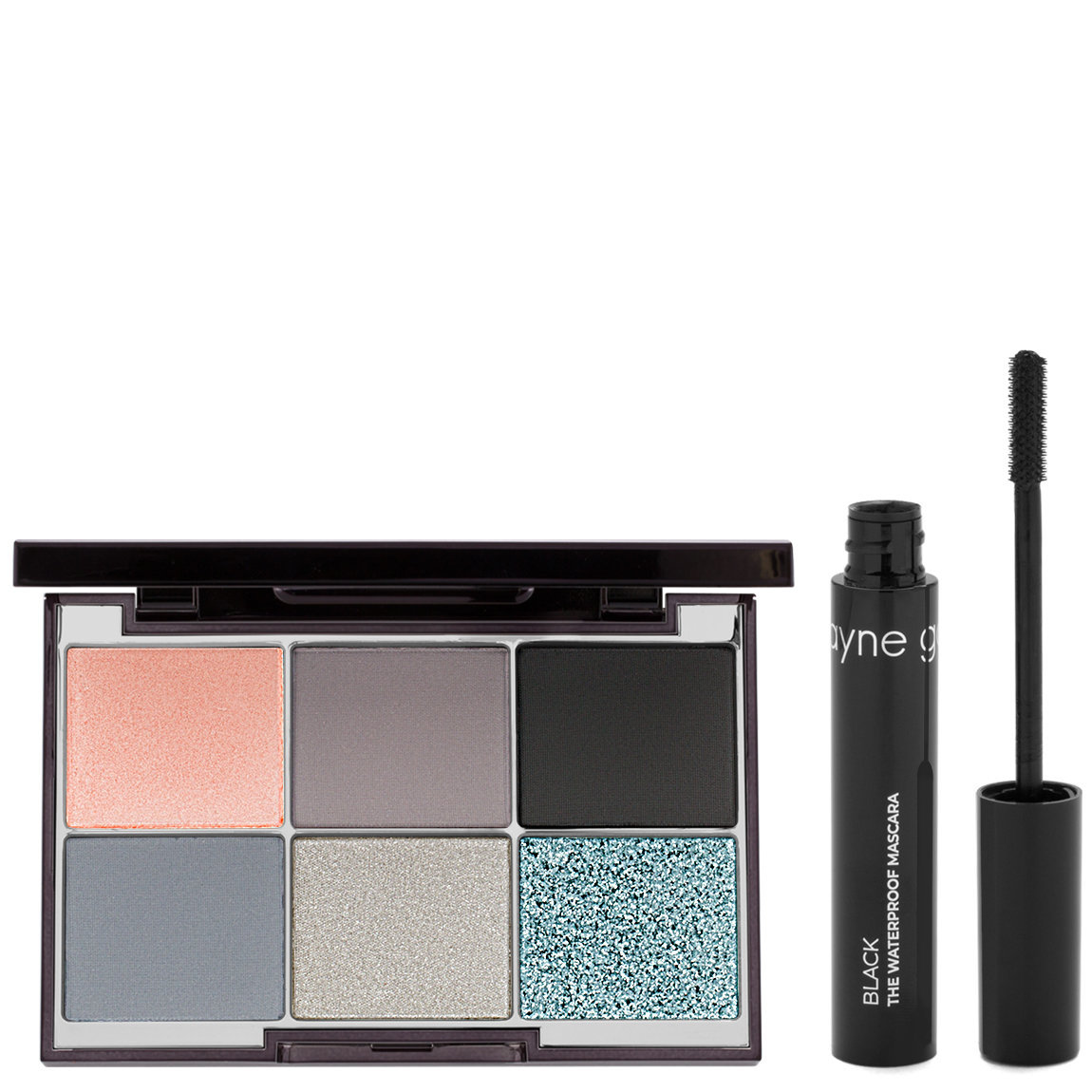 Wayne Goss Pearl Moonstone Luxury Eye Palette + Waterproof Mascara alternative view 1 - product swatch.