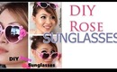 How To: DIY Rose Sunglasses (Glitter Giveaway)