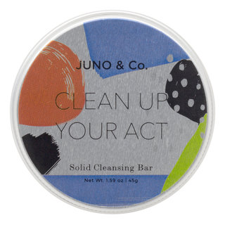 JUNO & Co. Clean Up Your Act Solid Cleansing Bar