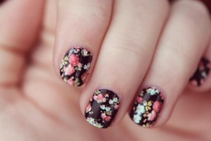 flower/nails