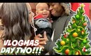 OUR FIRST VLOGMAS AS A FAMILY   VLOGMAS DAY 2