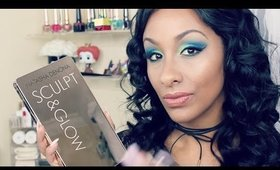 NATASHA DENONA Sculpt & Glow Palette (Medium/Dark) | Review & Demo | Mo Makeup Mo Beauty