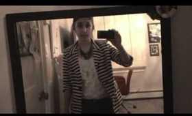 Striped Blazer! OOTD