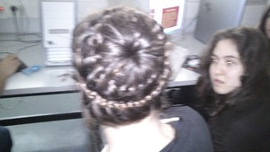 ok it is nit that clear but it was awesome everyone gave me an applause eveb my teachers :-P(please check my other hairbraids)