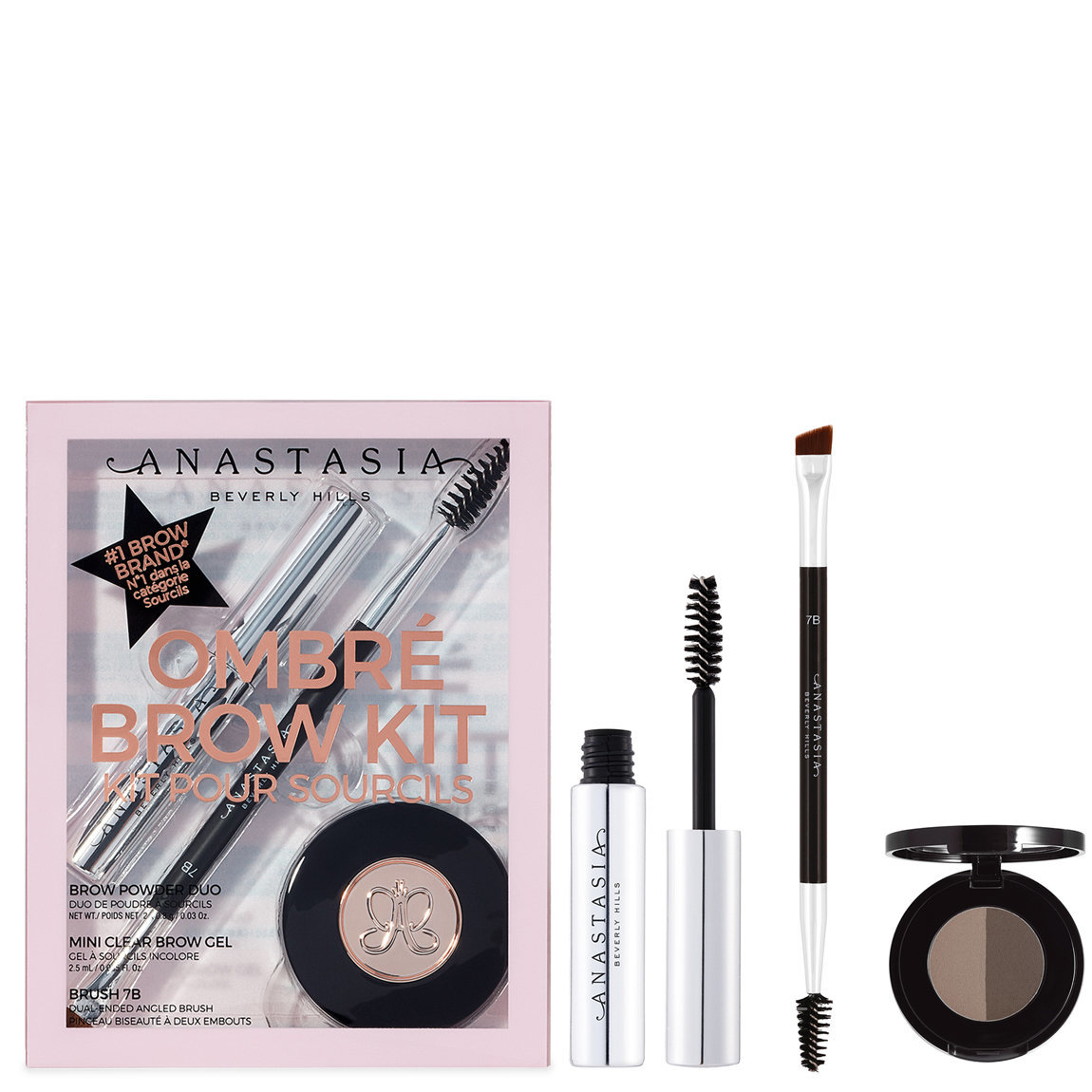 Anastasia Beverly Hills Ombré Brow Kit Dark Brown