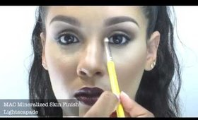 Khloe Kardashian Inspired Vampy Makeup Tutorial
